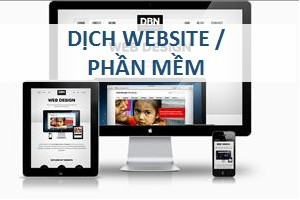dịch website phần mềm